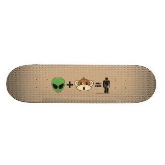 The Terrestrial Freewill Project Skateboard Deck