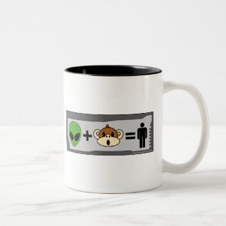 The Terrestrial Freewill Project Two-Tone Coffee Mug