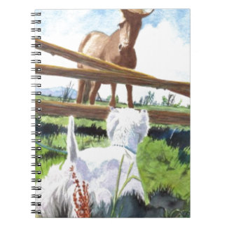 The Terrier and the Horse Notebook