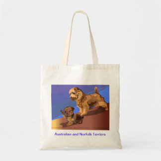 The Terrier Terror Tote Bag