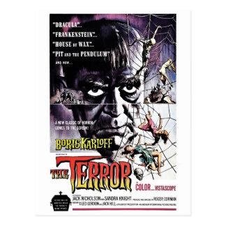 """The Terror"" Postcard"