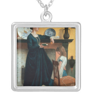 The Test Square Pendant Necklace