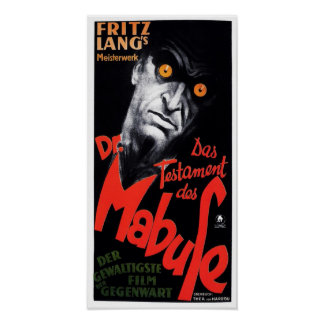 The Testament of Dr. Mabuse Print