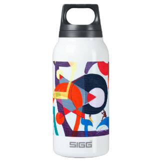 The Teth Letter - hebrew alphabet Insulated Water Bottle