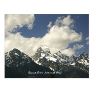 The Tetons, Grand Teton National Park Postcard