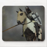 The teutonic knight mouse pad