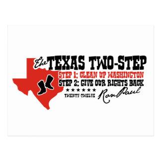 THE TEXAS 2 STEP POSTCARD