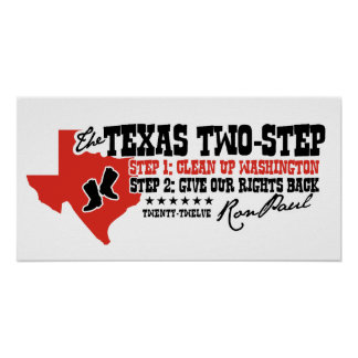 THE TEXAS 2 STEP POSTER