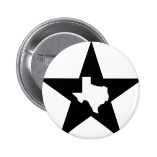 The Texas Lone Star State US Custom Ink Button
