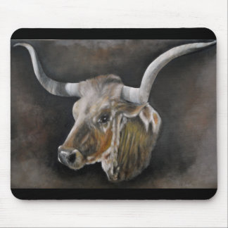 The Texas Longhorn Mouse Pad