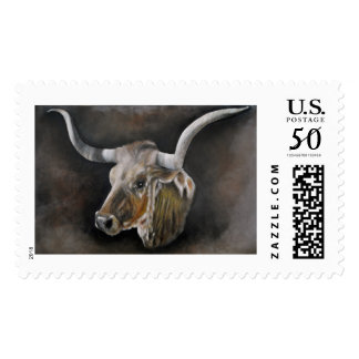 The Texas Longhorn Postage