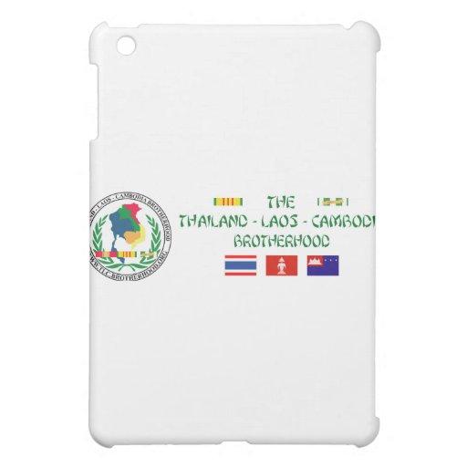 The Thailand-Laos-Cambodia Brotherhood Cover For The iPad Mini