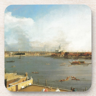 The Thames and the City of London from Richmond Coaster