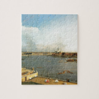 The Thames and the City of London from Richmond Jigsaw Puzzle