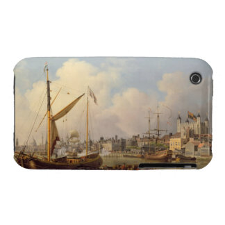 The Thames and the Tower of London supposedly on t iPhone 3 Case