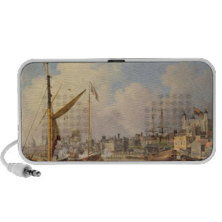 The Thames and the Tower of London supposedly on t Notebook Speaker