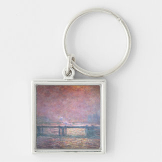 The Thames at Charing Cross, 1903 Key Chain