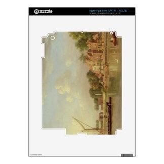 The Thames at Twickenham, c.1760 (oil on canvas) iPad 3 Decal