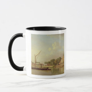 The Thames at Twickenham, c.1760 (oil on canvas) Mug