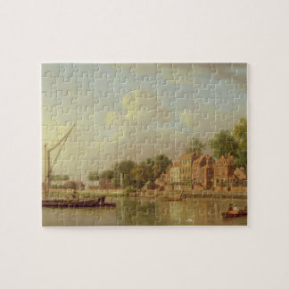 The Thames at Twickenham, c.1760 (oil on canvas) Jigsaw Puzzles