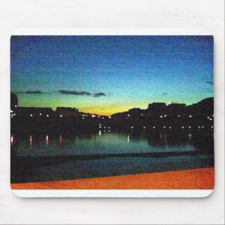 The Thames at Twilight Mouse Pad
