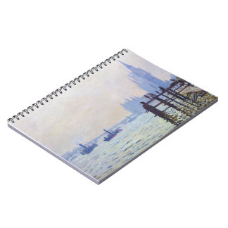 The Thames at Westminster Claude Monet Notebook