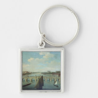 The Thames at Westminster Keychains