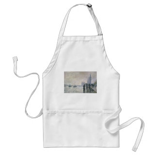 The Thames below Westminster (1871) Adult Apron
