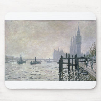 The Thames below Westminster (1871) Mouse Pad