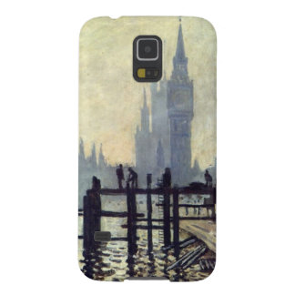 The Thames below Westminster - Claude Monet Galaxy S5 Cases
