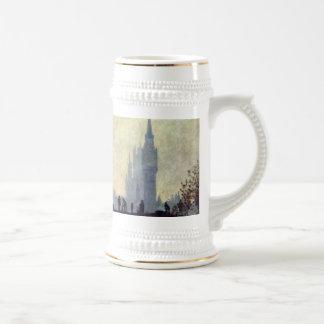 The Thames below Westminster - Claude Monet Coffee Mugs
