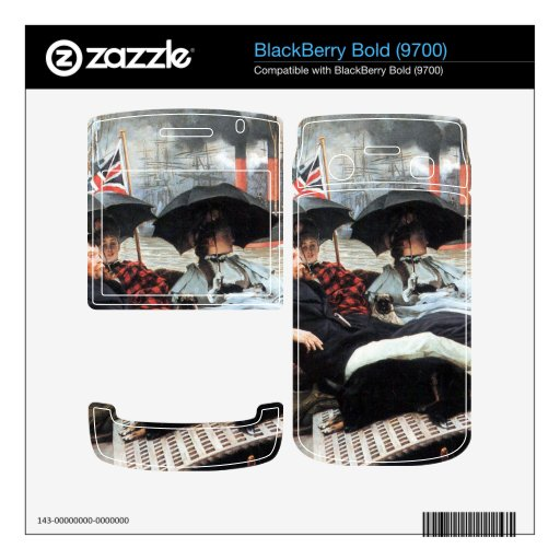The Thames by James Tissot BlackBerry Bold 9700 Skin