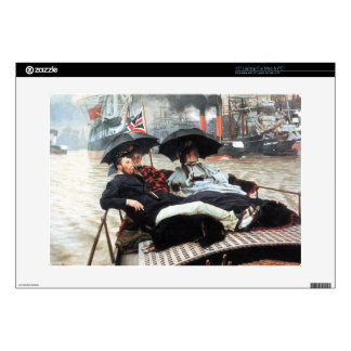 """The Thames by James Tissot Decals For 15"""" Laptops"""
