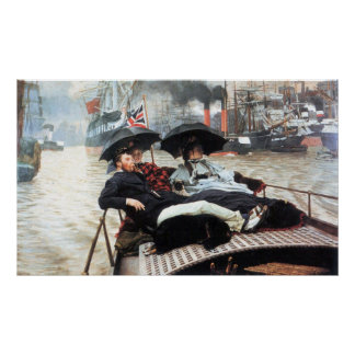 The Thames by James Tissot Print