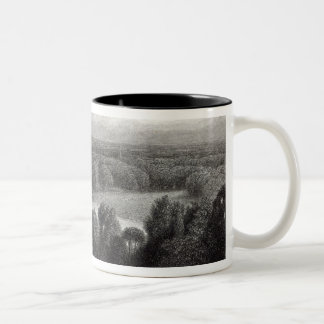 The Thames from Richmond Hill Two-Tone Coffee Mug
