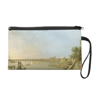 The Thames from the Terrace of Somerset House, loo Wristlet Clutches