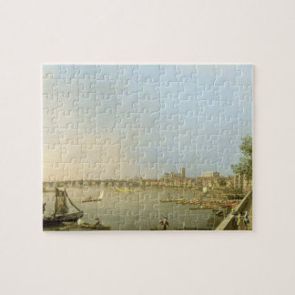 The Thames from the Terrace of Somerset House, loo Jigsaw Puzzle