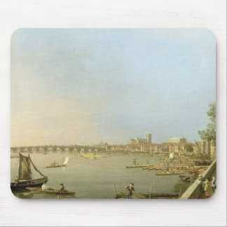 The Thames from the Terrace of Somerset House, loo Mouse Pad
