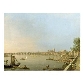 The Thames from the Terrace of Somerset House, loo Postcard
