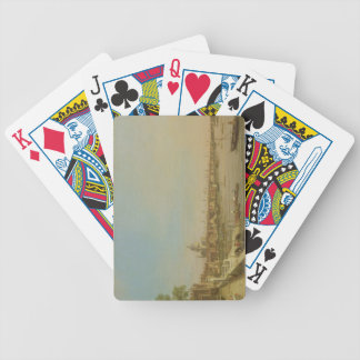 The Thames from the Terrace of Somerset House Look Bicycle Playing Cards