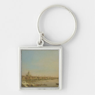 The Thames from the Terrace of Somerset House Look Keychain