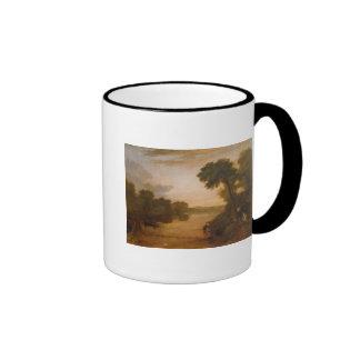 The Thames near Windsor, c.1807 Ringer Coffee Mug