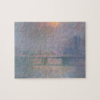 The Thames with Charing Cross bridge, 1903 (oil on Jigsaw Puzzles