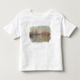 The Thaw on the Seine, near Vetheuil, 1880 Toddler T-shirt