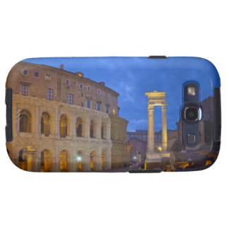 The Theater of Marcellus in Rome at night Galaxy S3 Cases