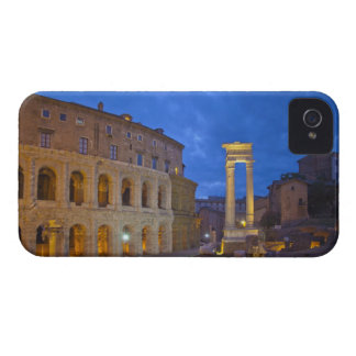 The Theater of Marcellus in Rome at night Case-Mate iPhone 4 Cases