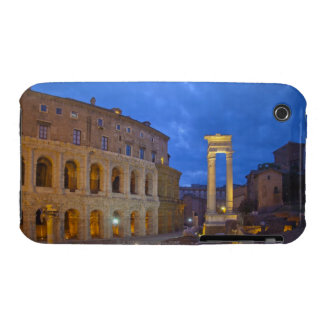 The Theater of Marcellus in Rome at night iPhone 3 Cover