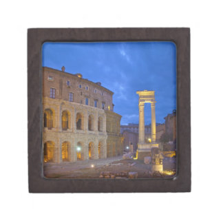 The Theater of Marcellus in Rome at night Keepsake Box