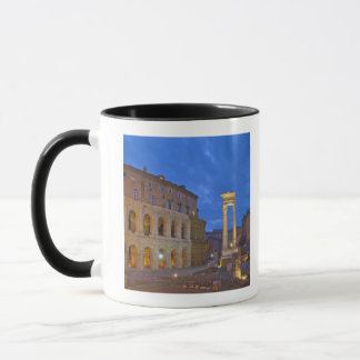 The Theater of Marcellus in Rome at night Mug