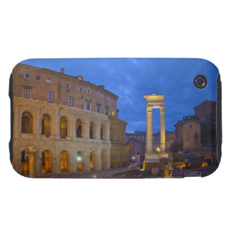 The Theater of Marcellus in Rome at night Tough iPhone 3 Covers